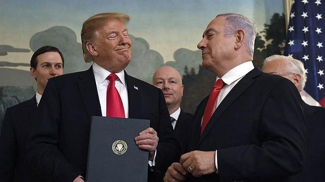 Израиль назвал в честь Трампа поселок на Голанах