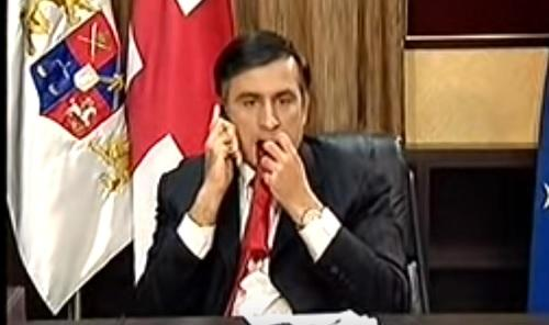 Saakaşvilinin partiyasının ofisinə hücum edildi