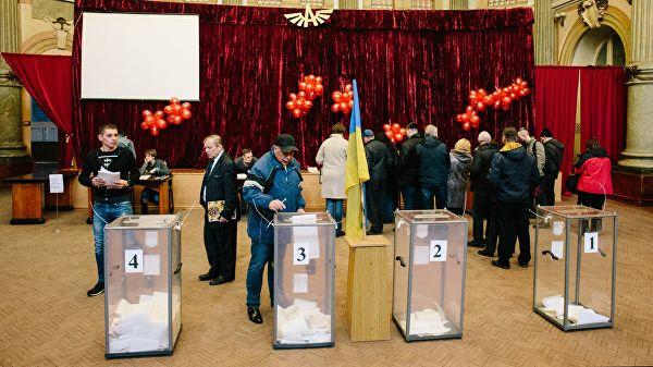 Voting at Ukraine's snap parliamentary elections over