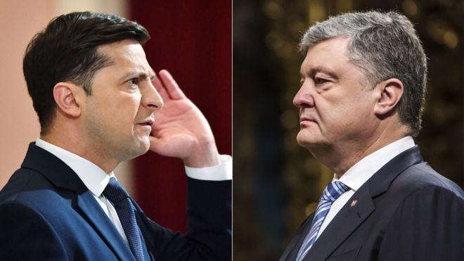 Poroshenko congratulated Zelensky