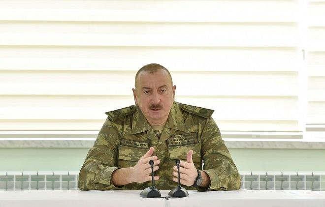 Ilham Aliyev: We liberated Aghdam without firing a shot