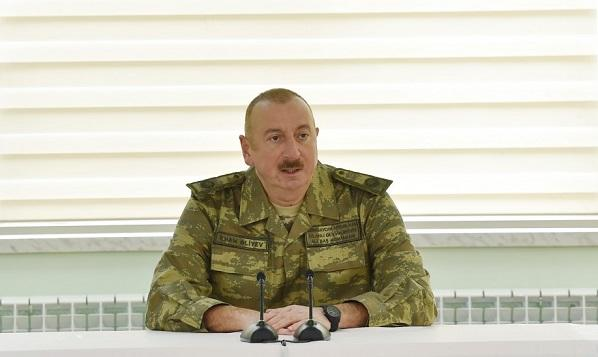 Ilham Aliyev posts a video on the Day of Armed Forces