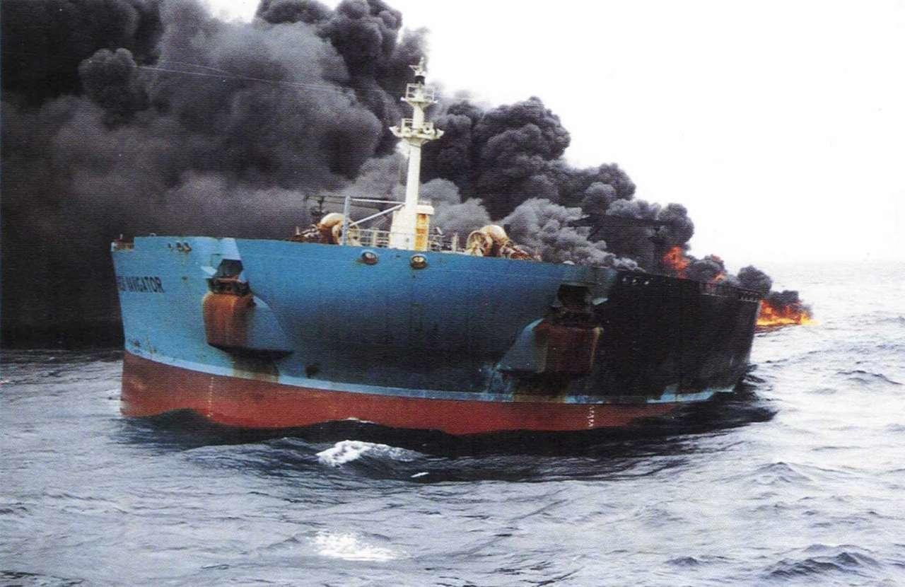 İsrail gəmisində partlayış baş verdi