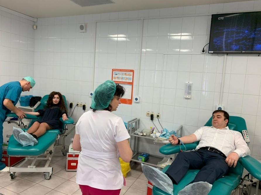 Лейла Алиева провела благотворительную акцию