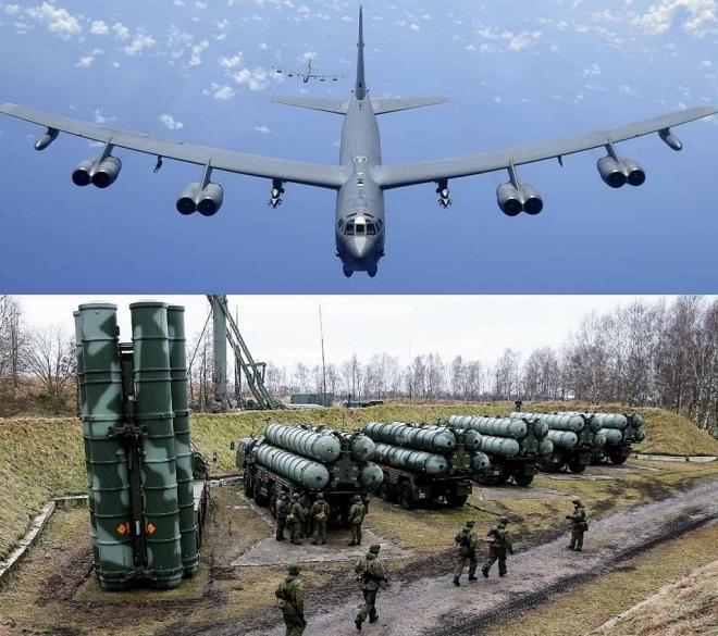 Бомбардировщик Б-52 и С-400: за кем останется поле боя?