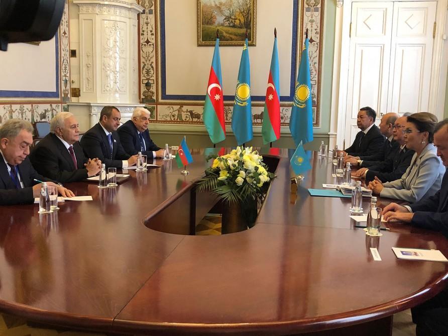 Назарбаева о визите в Баку и встрече с Гейдаром Алиевым
