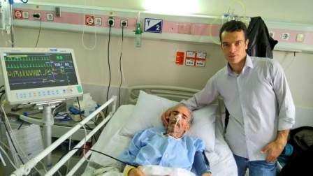 عزیز پورولی در بیمارستان بستری شد