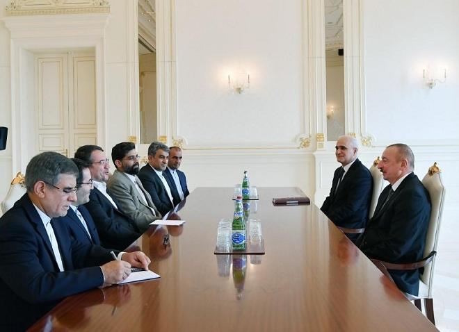 Ильхам Алиев принял иранского министра