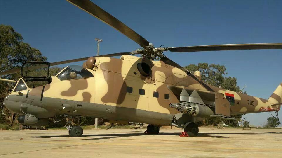 """""""Летающие танки"""" Хафтара замечены над Триполи - Фото"""