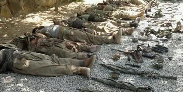 Türk tankları PKK qərargahını darmadağın etdi: 18 ölü