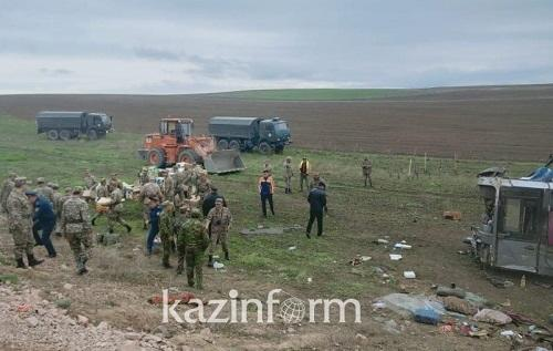 Bus accident kills 11 people in Kazakhstan