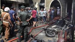 Şri Lankada polislər motosikleti partlatdı