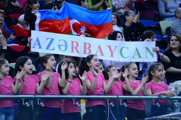"Azerbaijan has gold"" and silver medals"