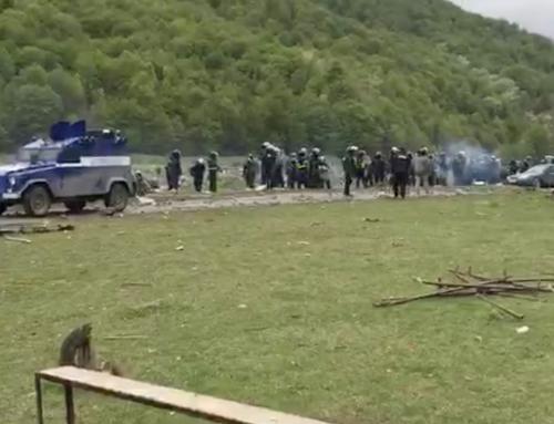 Столкновения спецназа с чеченцами в Грузии