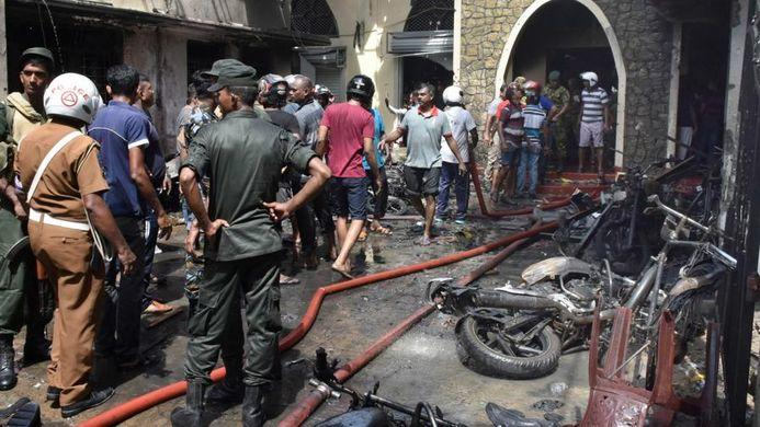 More than 200 killed in Sri Lanka attacks