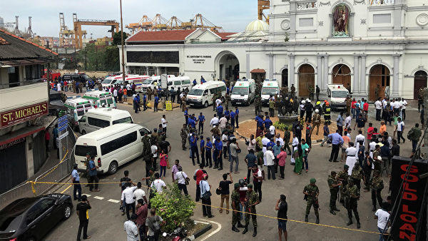 24 people arrested as 8 deadly blasts Rock Sri Lanka -