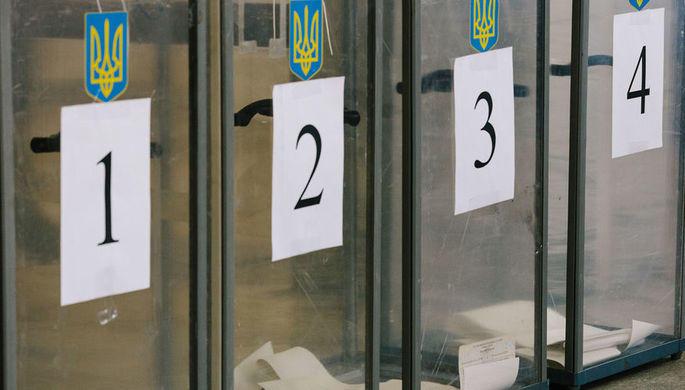 Появились первые данные ЦИК на Украине