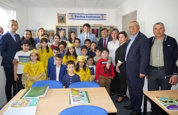Во французском городе открылась азербайджанская школа - Фото