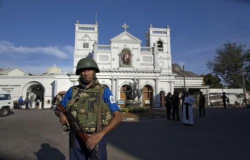 Another blast hits area near church in Sri Lanka