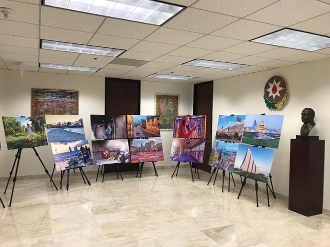 В Лос-Анджелесе прошла выставка об Азербайджане