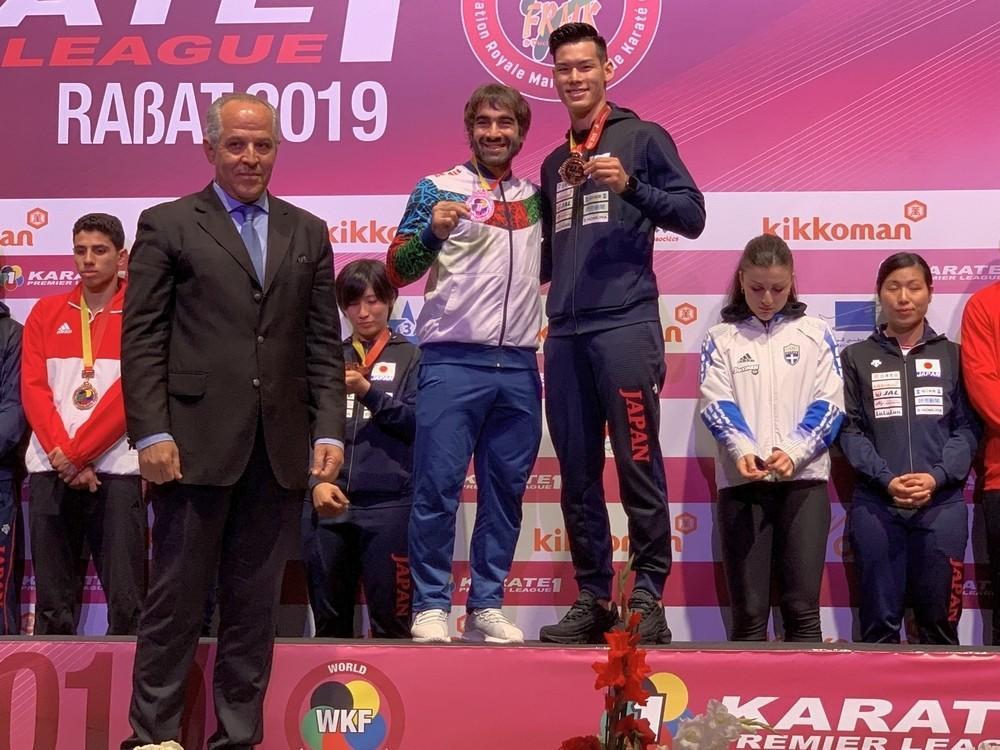 Rafael Ağayev Rabatda bürünc medal qazandı