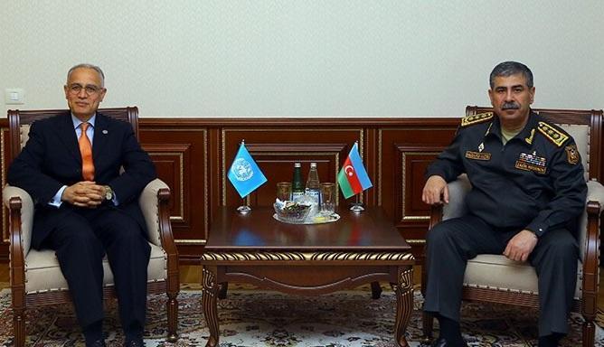 Zakir Hasanov meets with UN Resident Coordinator in Azerbaijan