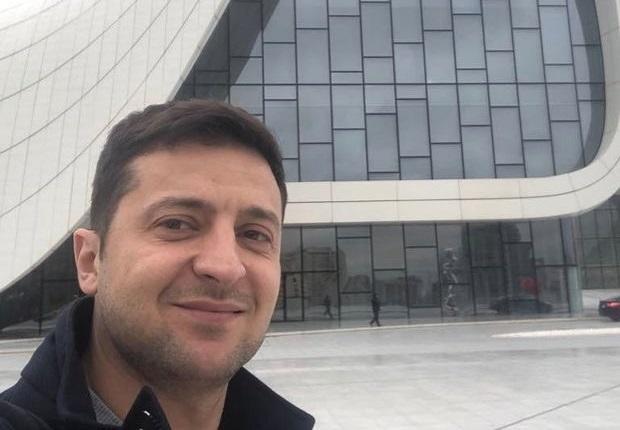 Как Зеленский отдыхал в Азербайджане - Фото