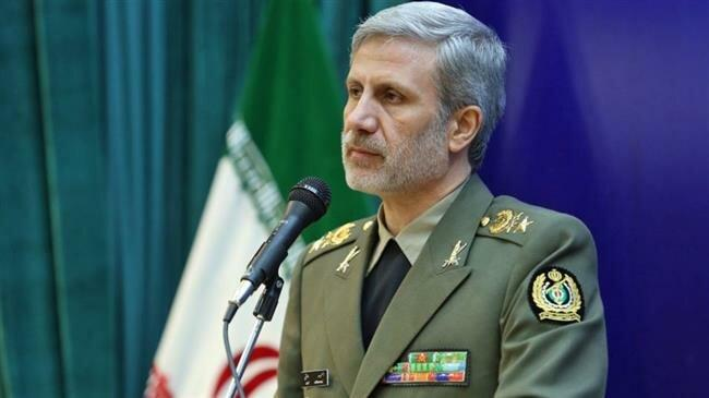 Iran defense minister in Moscow: Trumpism