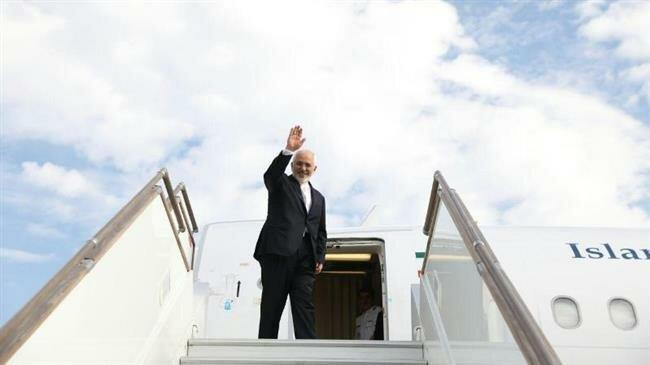Iranian FM Zarif leaves for New York