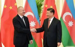Ильхам Алиев встретился с Си Цзиньпином
