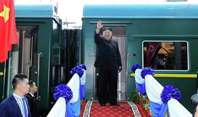Ким Чен Ын прибыл на остров Русский - Обновлено