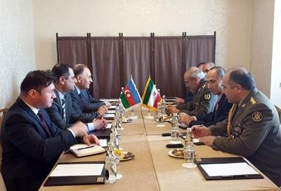 Azerbaijan, Iran discuss military cooperation