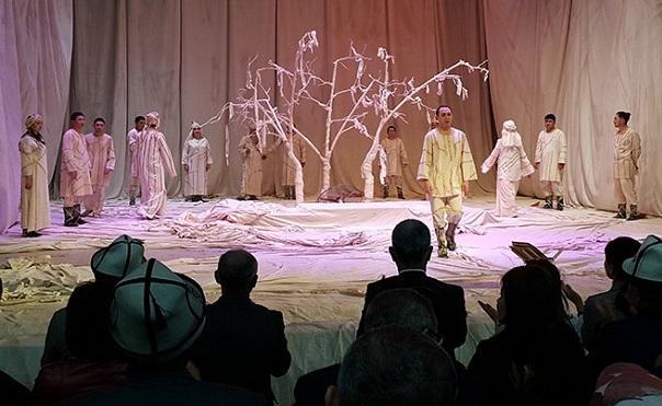 Спектакль «Деде Горгуд» на кыргызской сцене - Видео