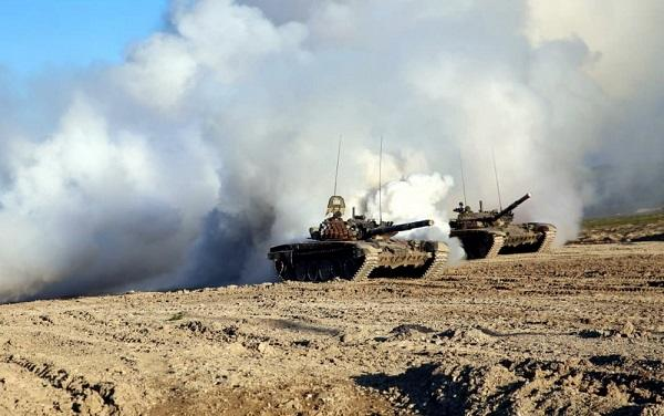 Our units continue to destroy enemy equipment -