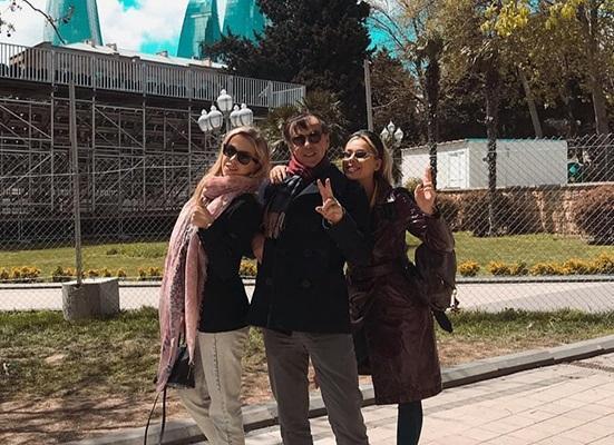 Yurçeviçin qızları Bakı və Qəbələyə heyran qaldı - Foto