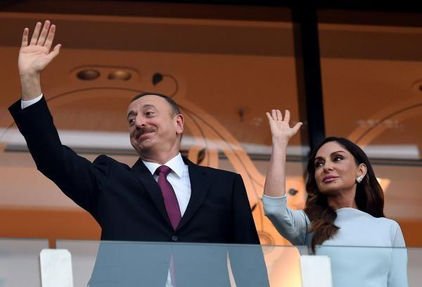 President and Mehriban Aliyeva taking part in Summer Festival -