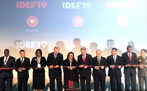 Nazirimiz İstanbulda İDEF-2019 sərgisinin açılışında