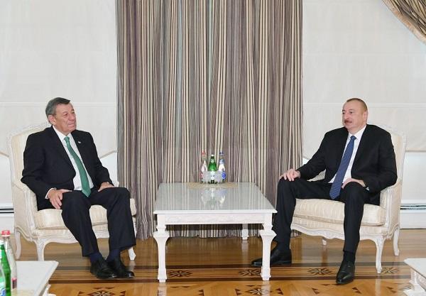 İlham Əliyev Uruqvayın XİN başçısı ilə görüşdü