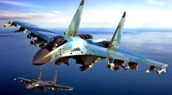 Российский истребитель упал в акватории Охотского моря
