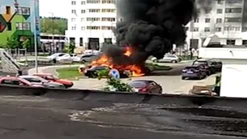 Rusiya səfirliyinin avtomobili partladıldı