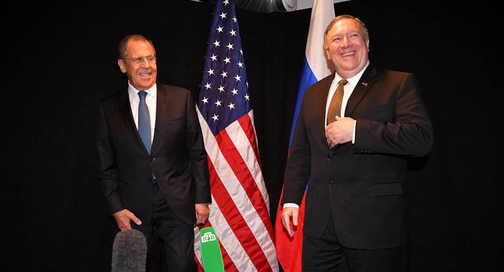 Помпео и Лавров обсудили Сирию и Украину
