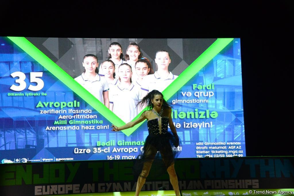 В Баку завершился 35-й ЧЕ по художественной гимнастике