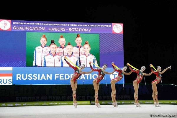روس گیمناستلار باکیدا چئمپیون اولدو