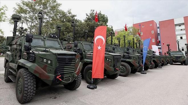 Пограничная охрана Турции получила бронированные машины