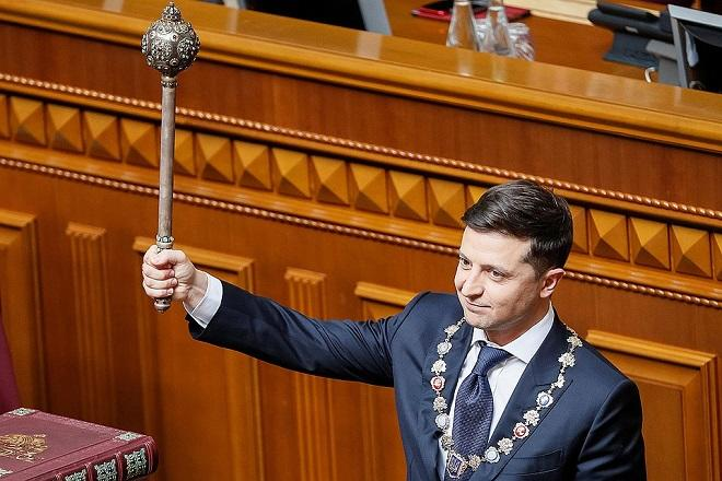 Zelensky was sworn in and Game of Thrones ends -
