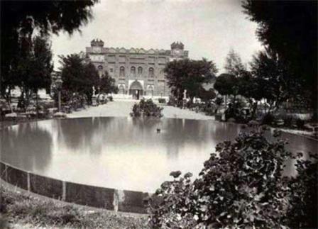 تبریزین قدیم و مشهور استراحت یئری باغشیمال