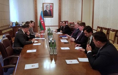 Elmar Mammadyarov met with Frakassetti