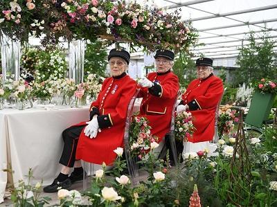 Chelsea Flower Show 2019 in full bloom -