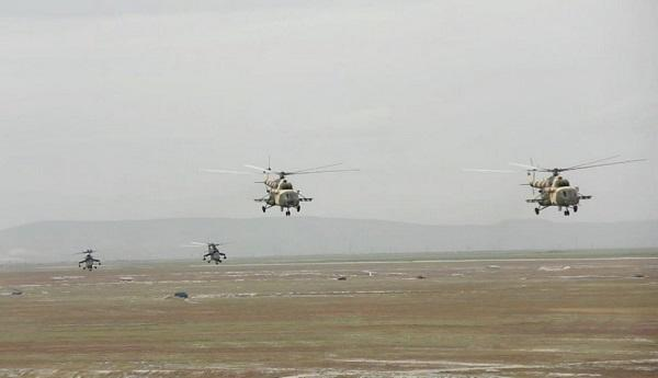 Russia has launched helicopters in Gyumri