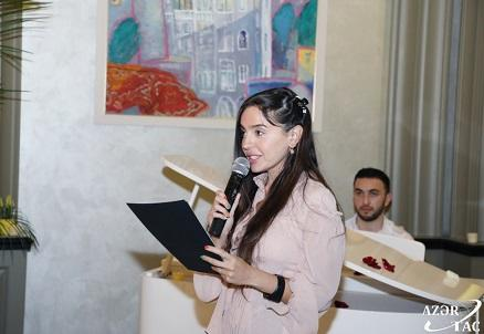 SÖZ layihəsi: Leyla Əliyeva şeirlərini oxudu - Foto